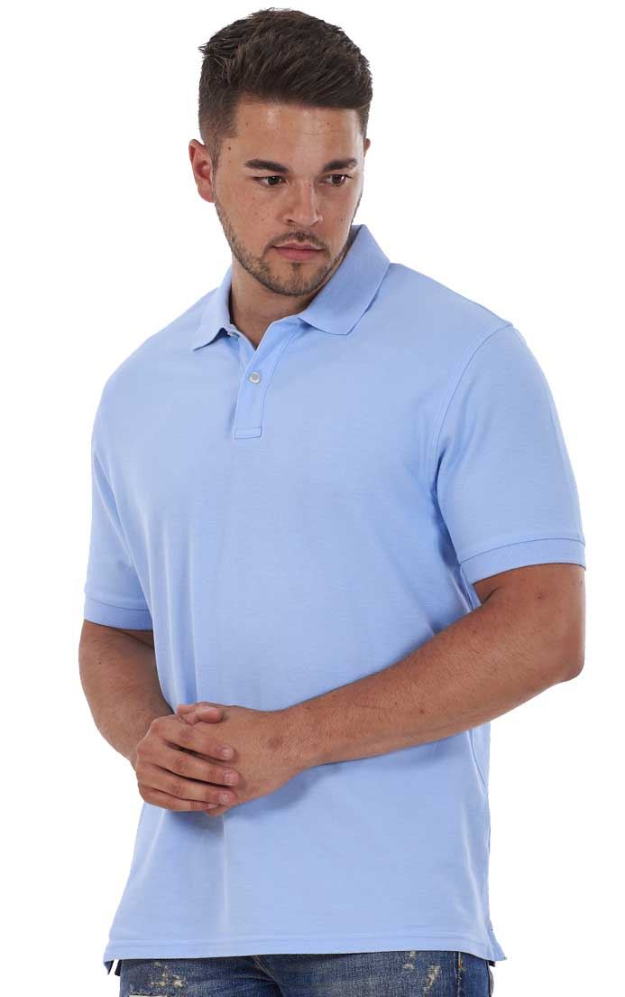 Men-039-s-ex-faMouS-store-Pure-Cotton-Plain-Top-Short-Sleeve-Polo-Tee-T-Shirt thumbnail 56