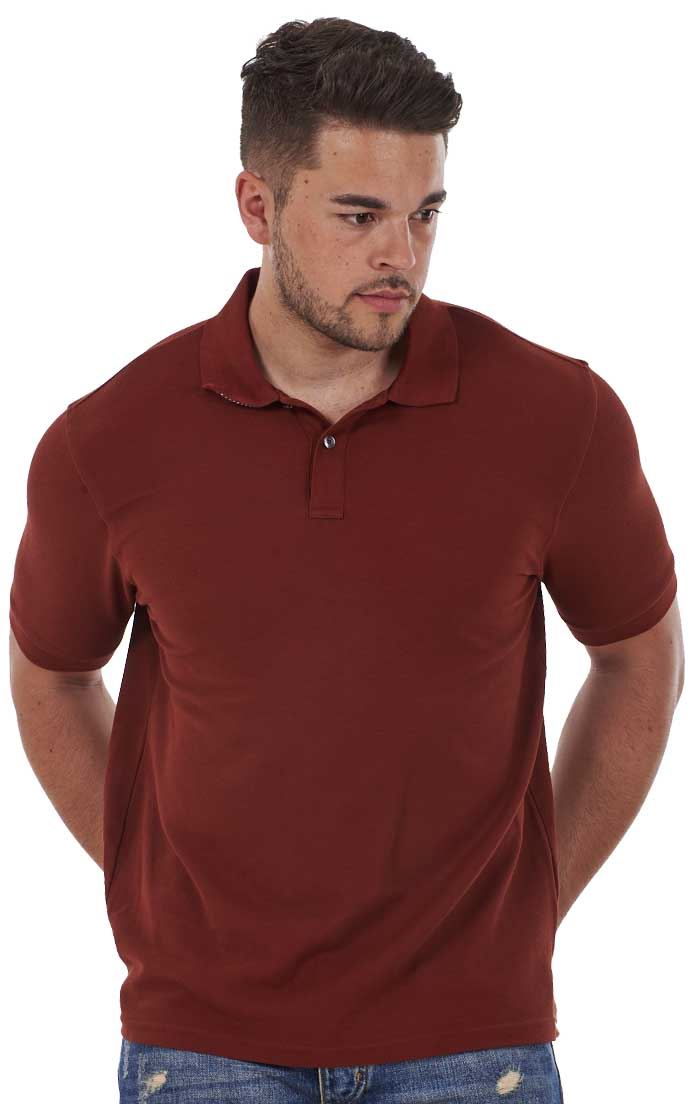 Men-039-s-ex-faMouS-store-Pure-Cotton-Plain-Top-Short-Sleeve-Polo-Tee-T-Shirt thumbnail 76