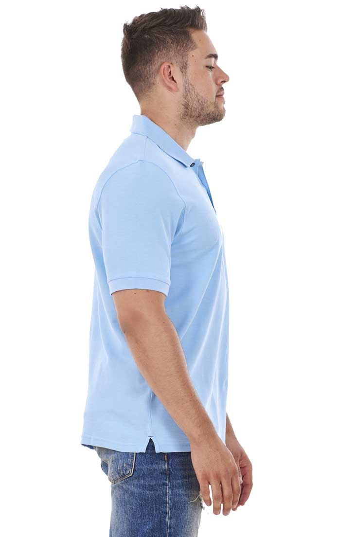 Men-039-s-ex-faMouS-store-Pure-Cotton-Plain-Top-Short-Sleeve-Polo-Tee-T-Shirt thumbnail 81