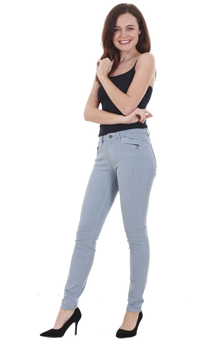 Ladies-Quality-Skinny-Jeans-Womens-Slim-Fit-Denim-Stretch miniatura 26