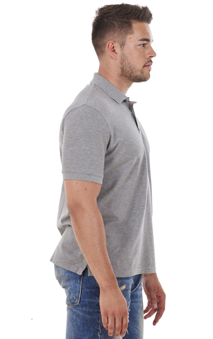 Men-039-s-ex-faMouS-store-Pure-Cotton-Plain-Top-Short-Sleeve-Polo-Tee-T-Shirt thumbnail 37