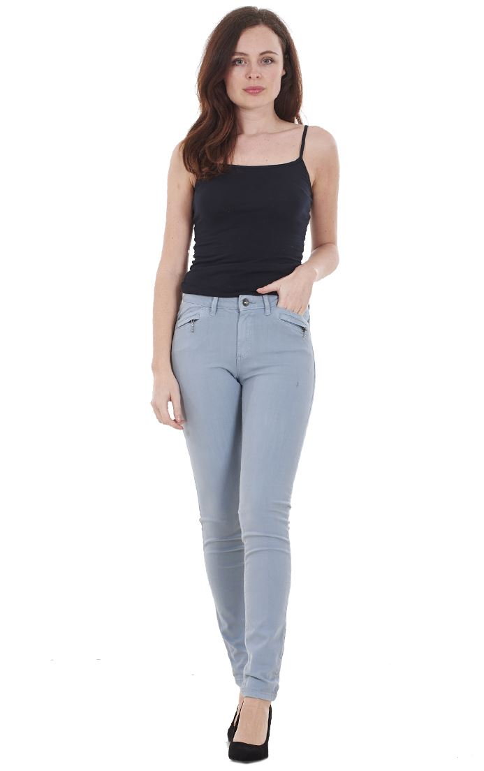 Ladies-Quality-Skinny-Jeans-Womens-Slim-Fit-Denim-Stretch miniatura 25