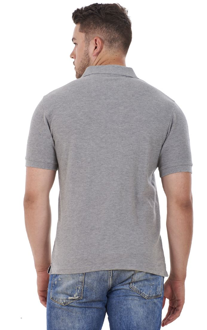 Men-039-s-ex-faMouS-store-Pure-Cotton-Plain-Top-Short-Sleeve-Polo-Tee-T-Shirt thumbnail 38