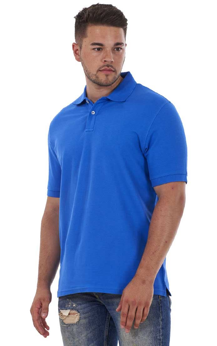 Men-039-s-ex-faMouS-store-Pure-Cotton-Plain-Top-Short-Sleeve-Polo-Tee-T-Shirt thumbnail 72