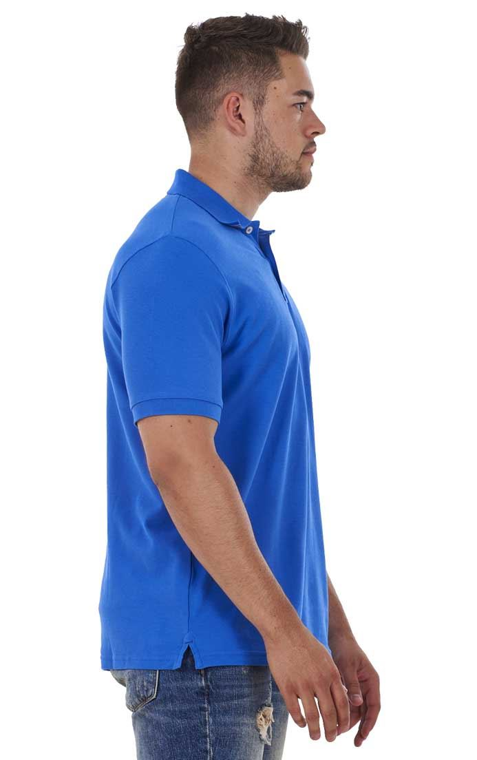Men-039-s-ex-faMouS-store-Pure-Cotton-Plain-Top-Short-Sleeve-Polo-Tee-T-Shirt thumbnail 73