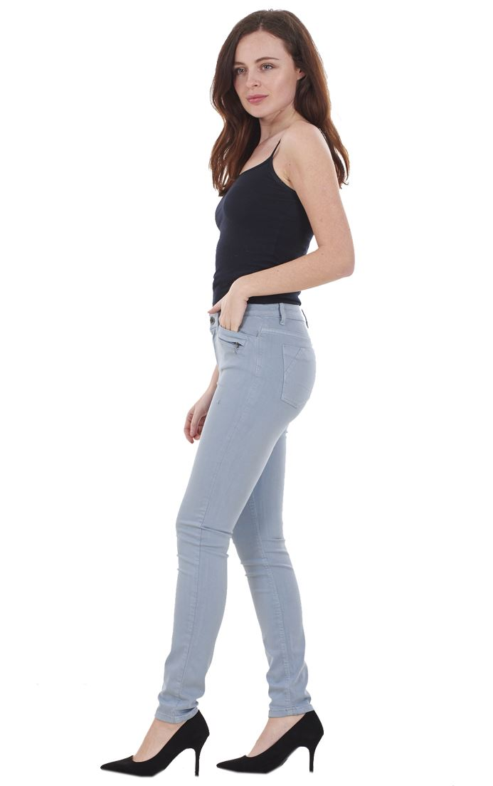 Ladies-Quality-Skinny-Jeans-Womens-Slim-Fit-Denim-Stretch miniatura 27