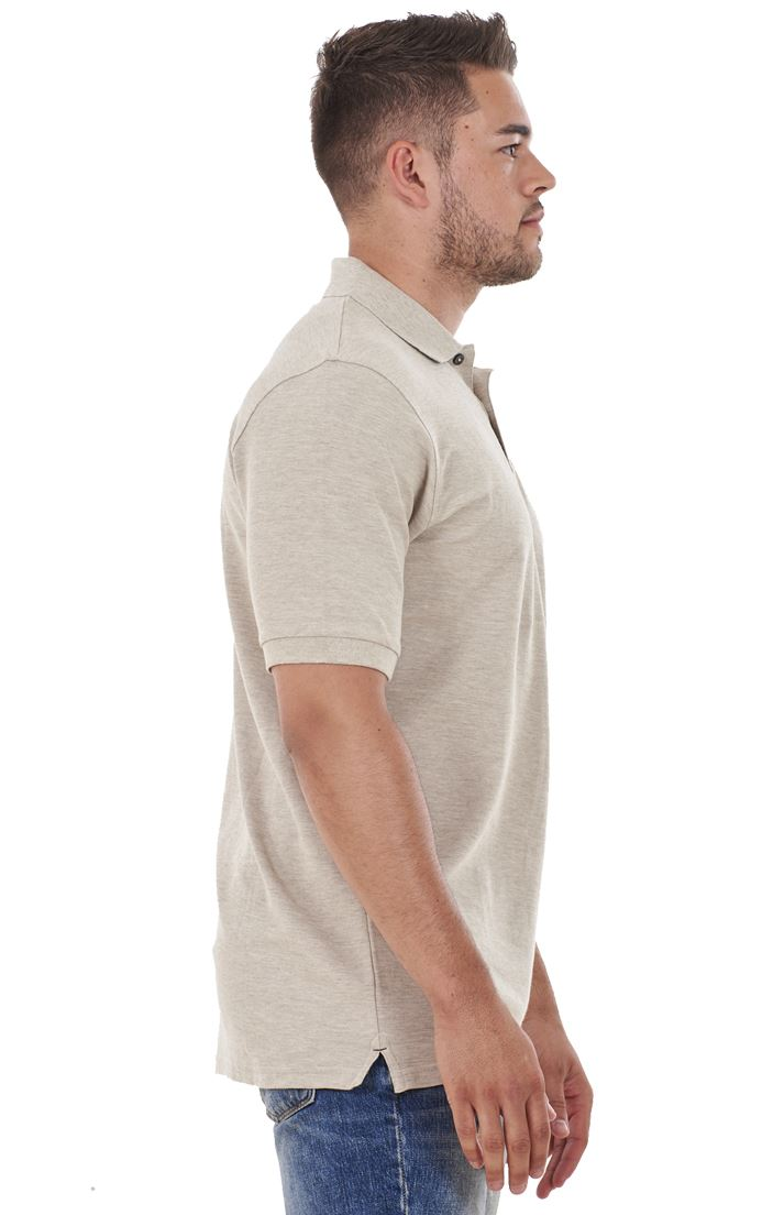 Men-039-s-ex-faMouS-store-Pure-Cotton-Plain-Top-Short-Sleeve-Polo-Tee-T-Shirt thumbnail 10