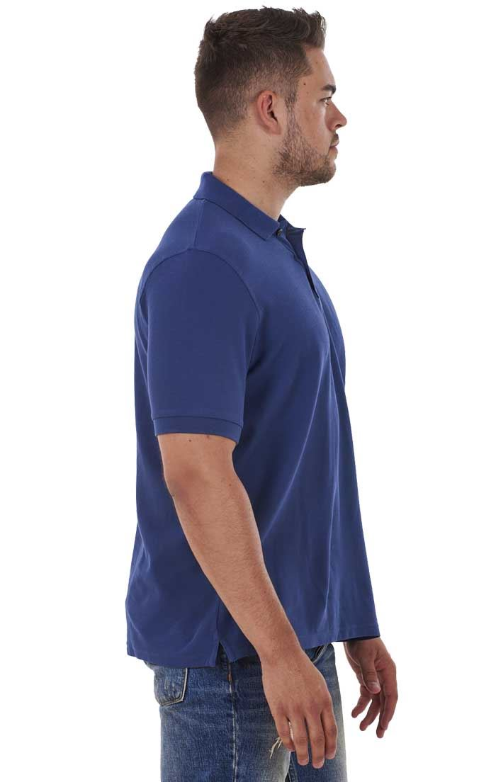 Men-039-s-ex-faMouS-store-Pure-Cotton-Plain-Top-Short-Sleeve-Polo-Tee-T-Shirt thumbnail 22