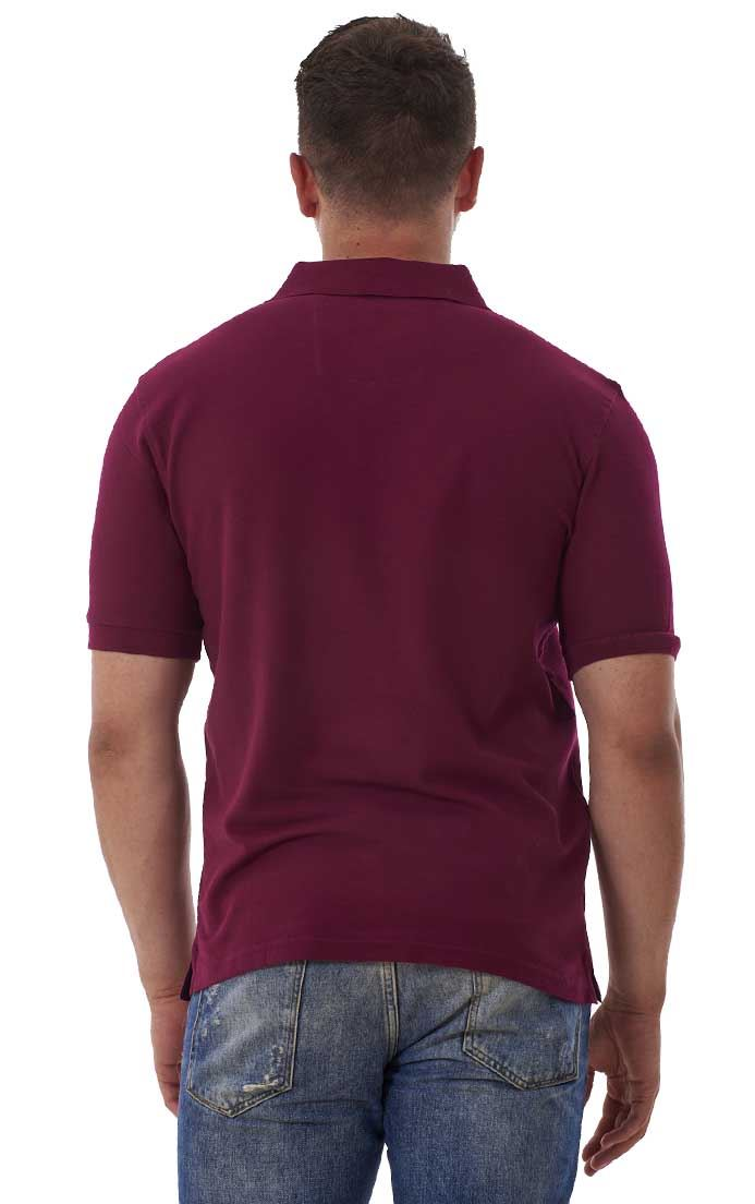 Men-039-s-ex-faMouS-store-Pure-Cotton-Plain-Top-Short-Sleeve-Polo-Tee-T-Shirt thumbnail 42