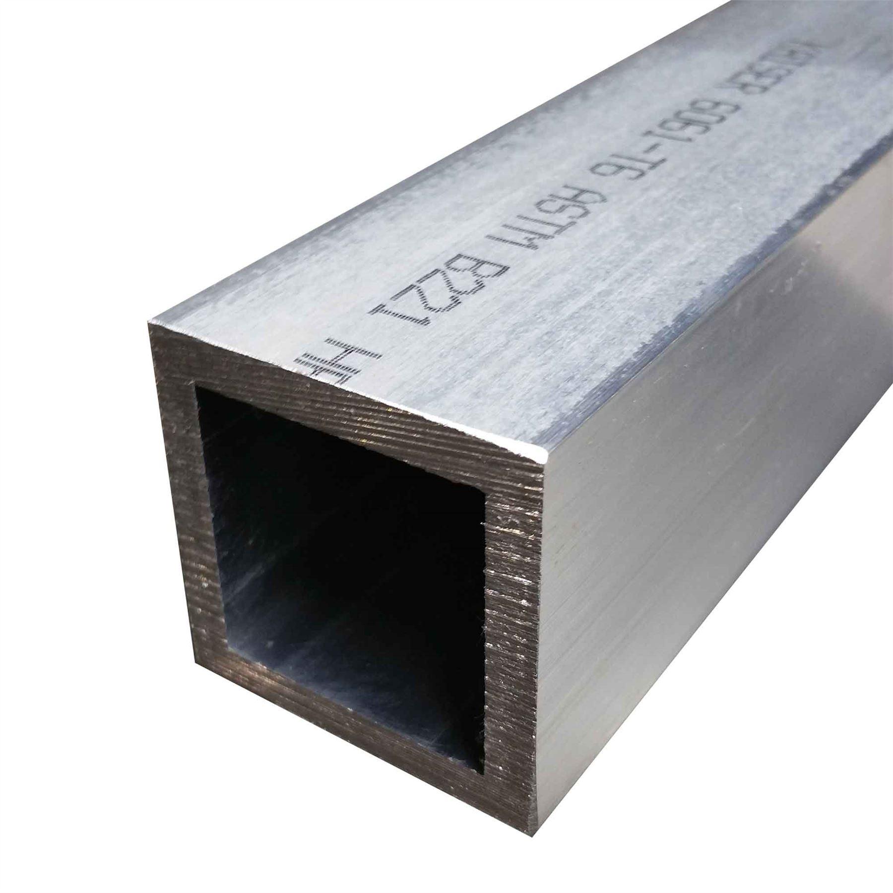 T aluminum square tube quot wall