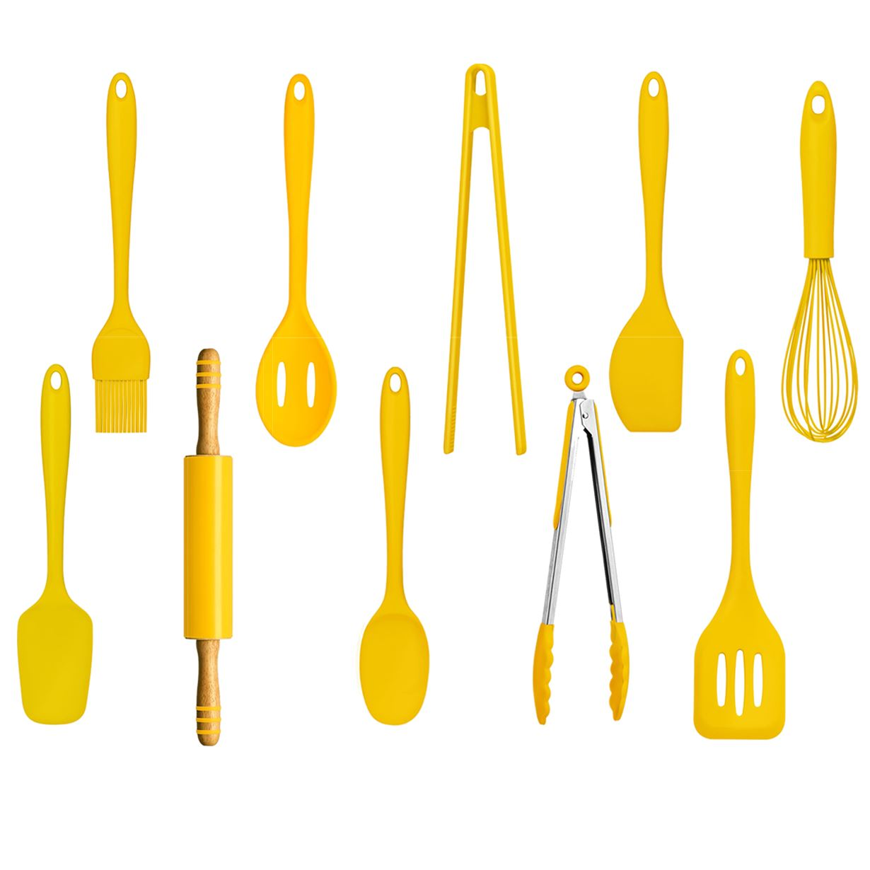 Zing Cooking Utensils | 10pc Kitchen Accessories Set | Heat ...
