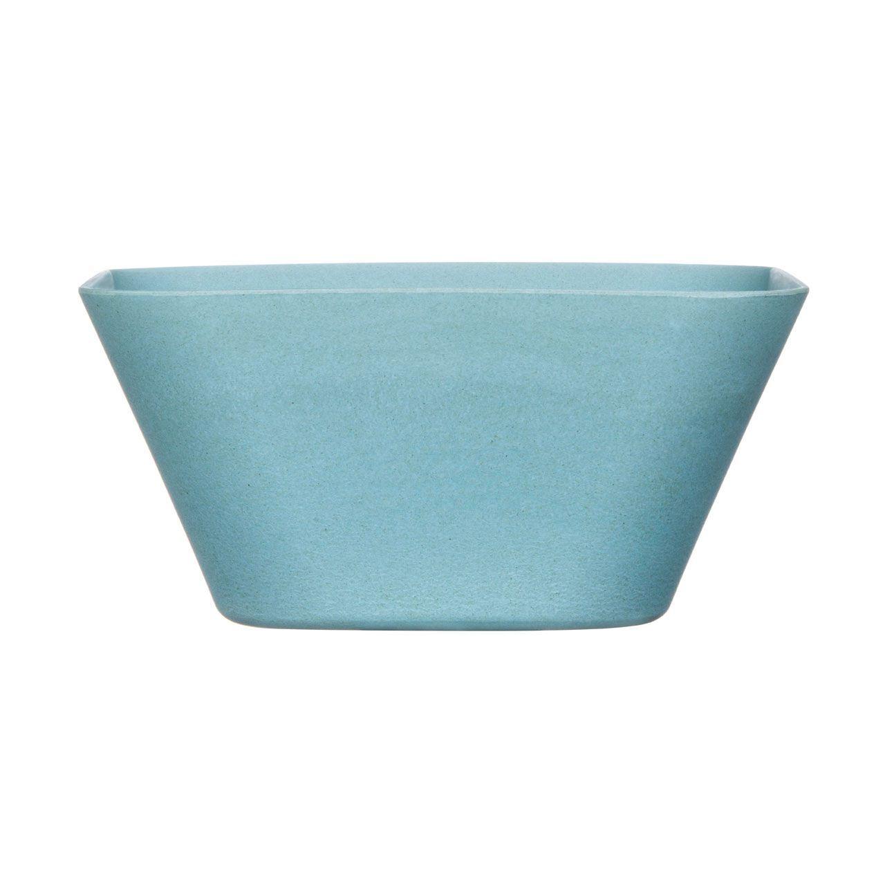 Premier Houswares Eden Dinner Plate Blue Bamboo Fibre