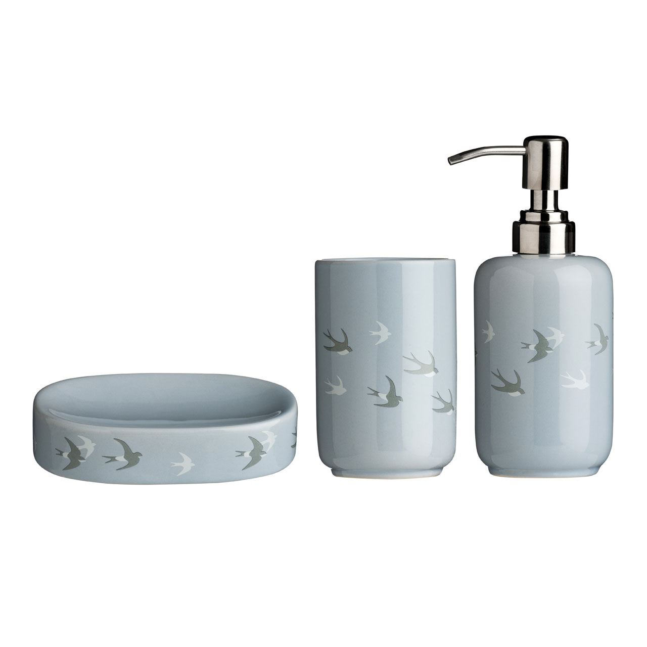 3-Piece Natural Premier Housewares Moon Bathroom Set