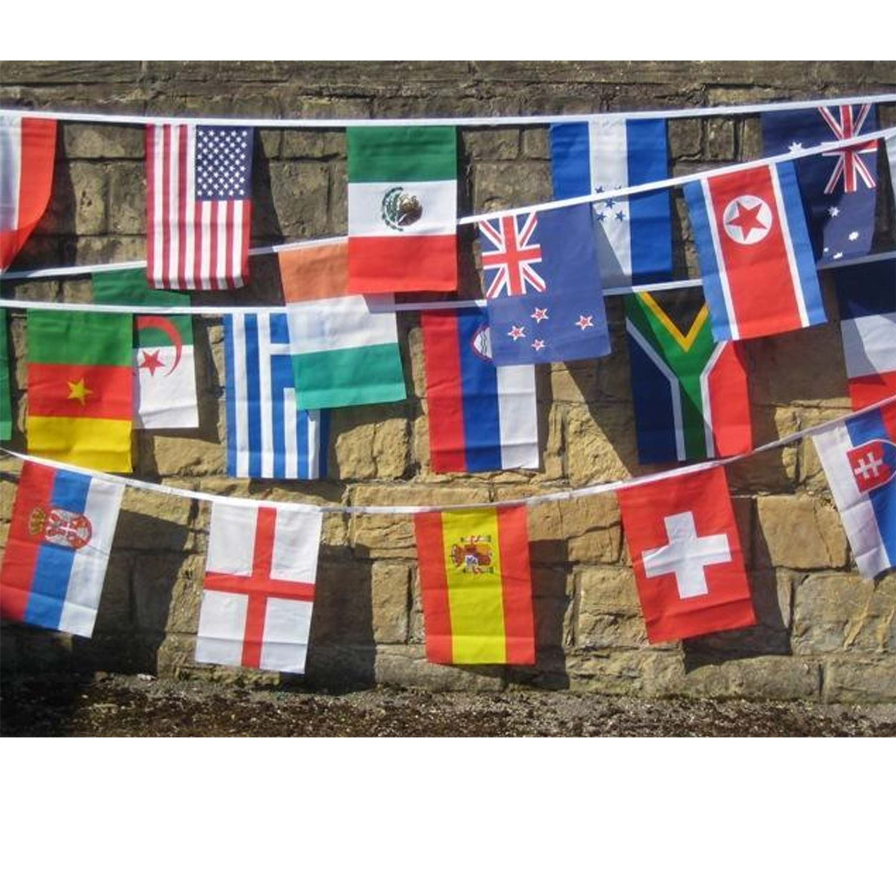 Decorations-For-2019-World-Cup-Rugby-Teams-Country-National-Flags-Bunting-Sports miniatuur 51