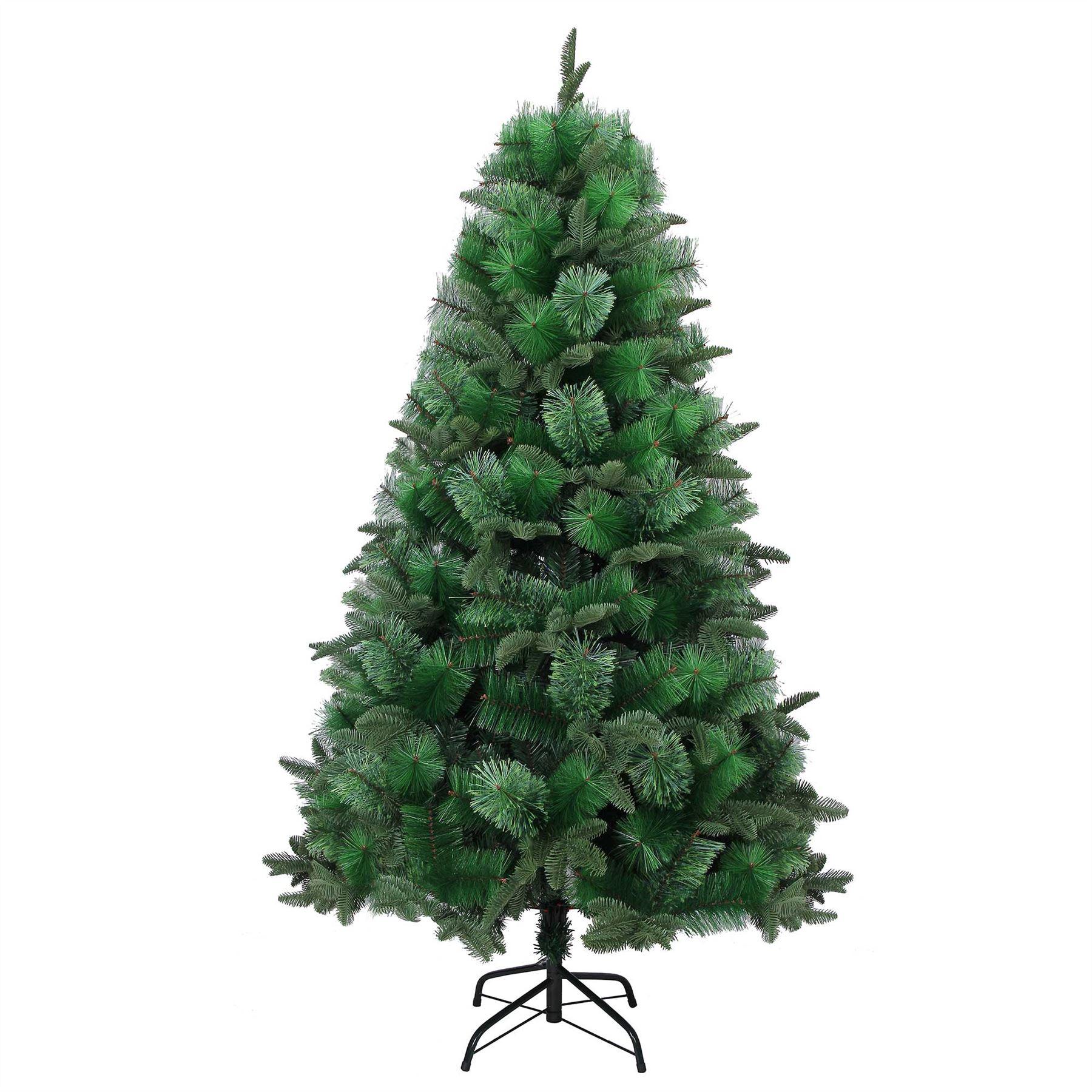 Lussuoso-Qualita-cespuglioso-Albero-di-Natale-Natale-Decorazioni-Casa-Arredamento-Grande miniatura 2