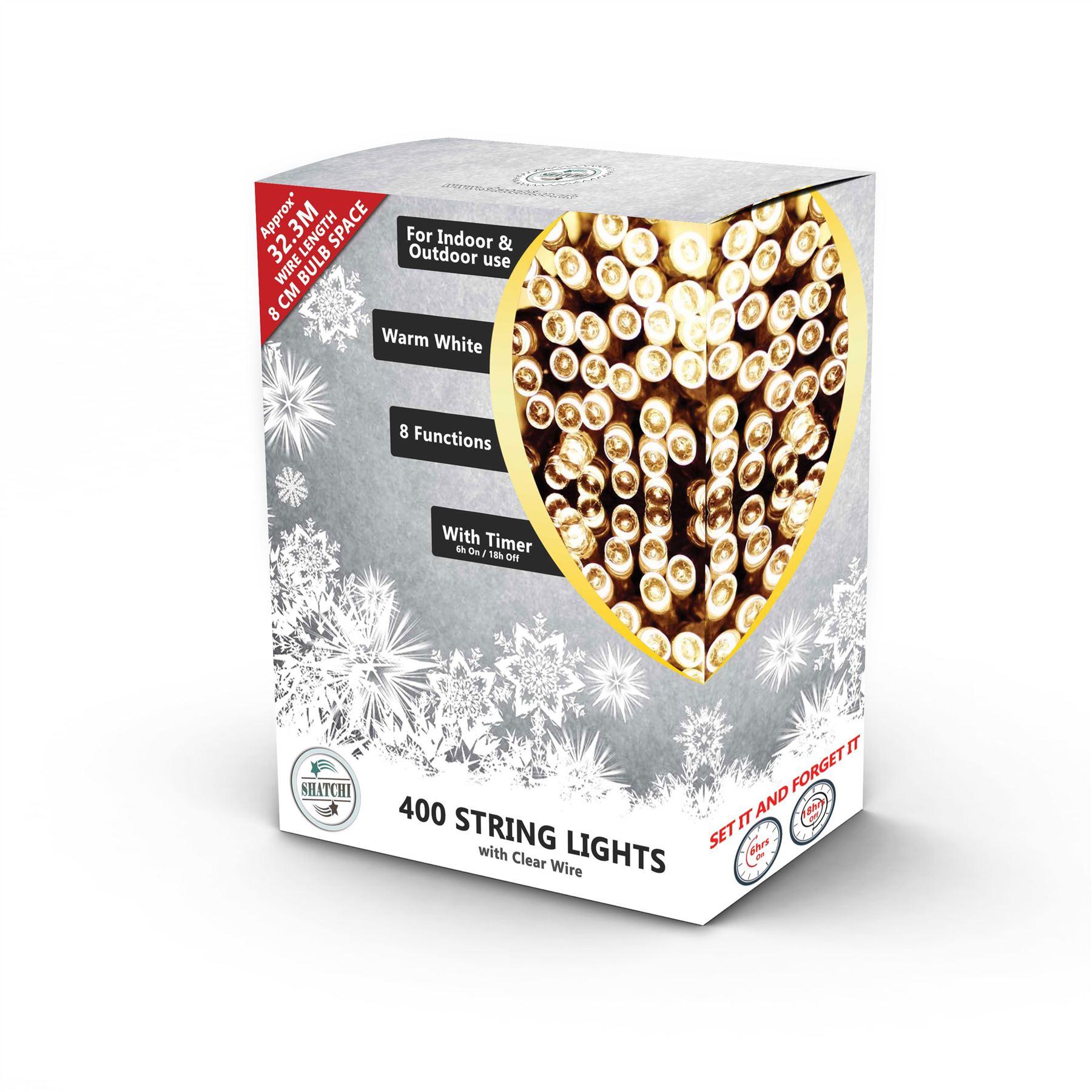 100-200-300-400-500-LED-Christmas-String-Fairy-Lights-Xmas-Decorations-Tree miniature 7
