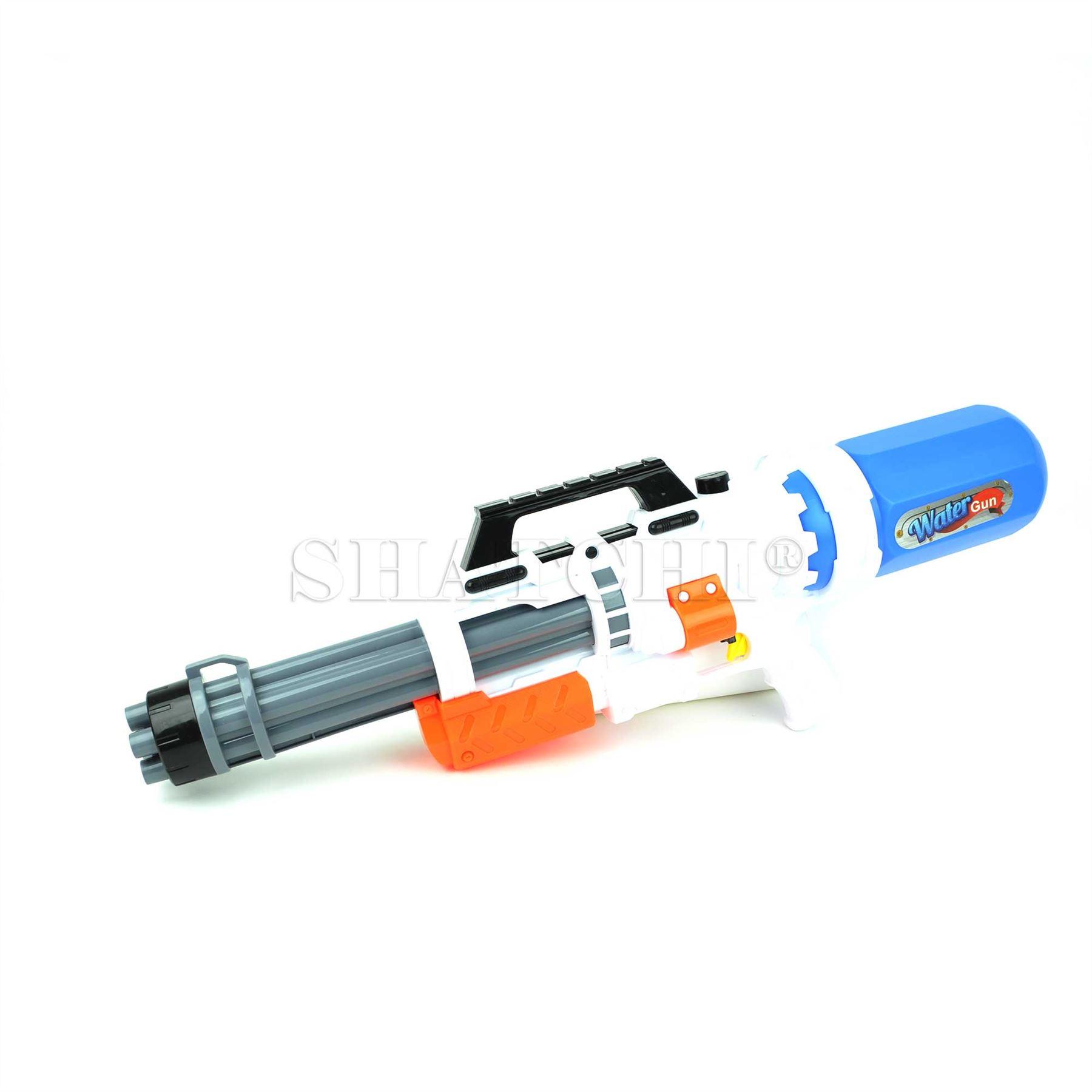 miniature 15 - Large Water Gun Pump Action Super Soaker Sprayer Backpack Outdoor Beach Garden