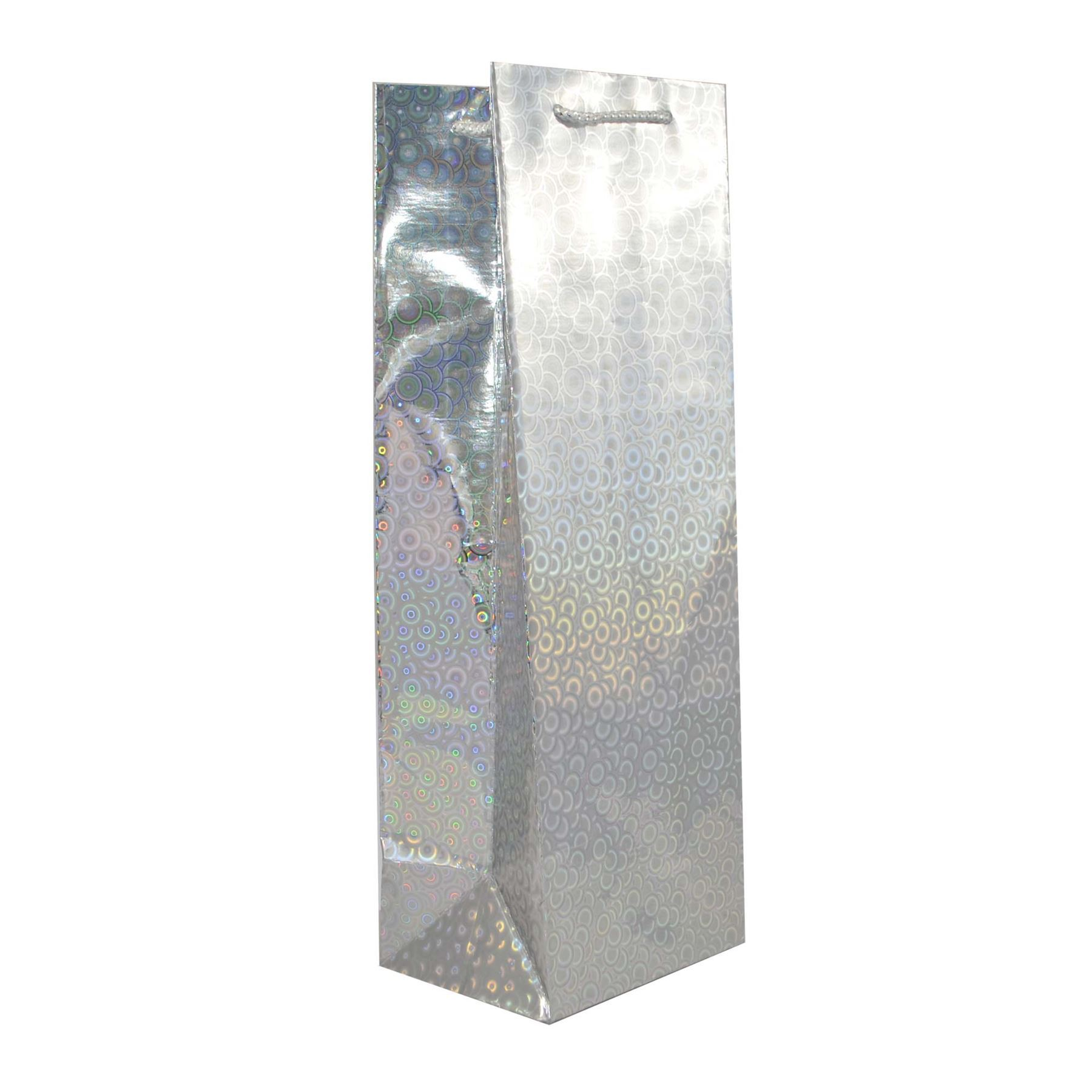 Assorted Mix Holographic Gift Bags for Wine Bottle Christmas Present ...