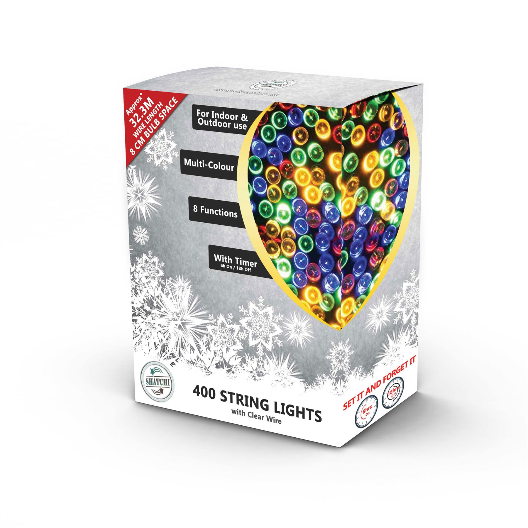 100-200-300-400-500-LED-Christmas-String-Fairy-Lights-Xmas-Decorations-Tree miniature 29