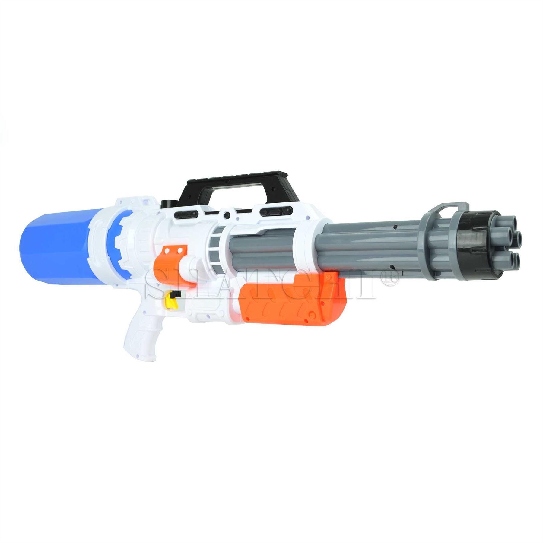 miniature 14 - Large Water Gun Pump Action Super Soaker Sprayer Backpack Outdoor Beach Garden