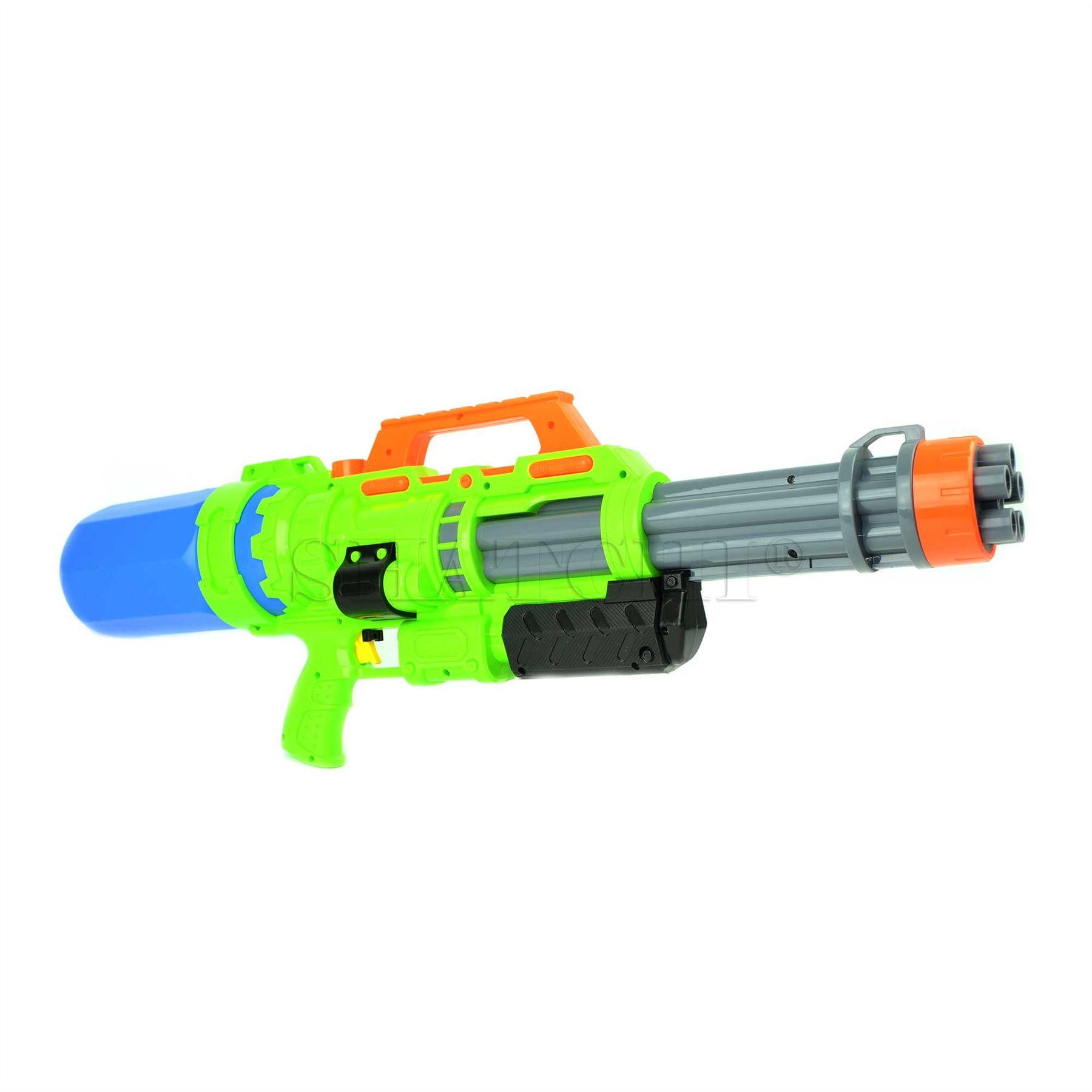 miniature 9 - Large Water Gun Pump Action Super Soaker Sprayer Backpack Outdoor Beach Garden