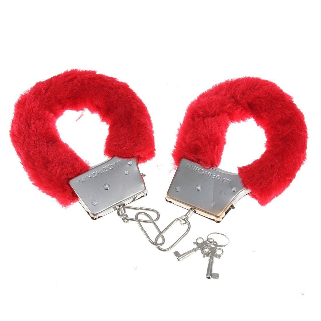 FURRY-FLUFFY-PINK-BLACK-RED-METAL-HANDCUFFS-FANCY-DRESS-HEN-NIGHT-STAG-PLAY-TOYS thumbnail 18