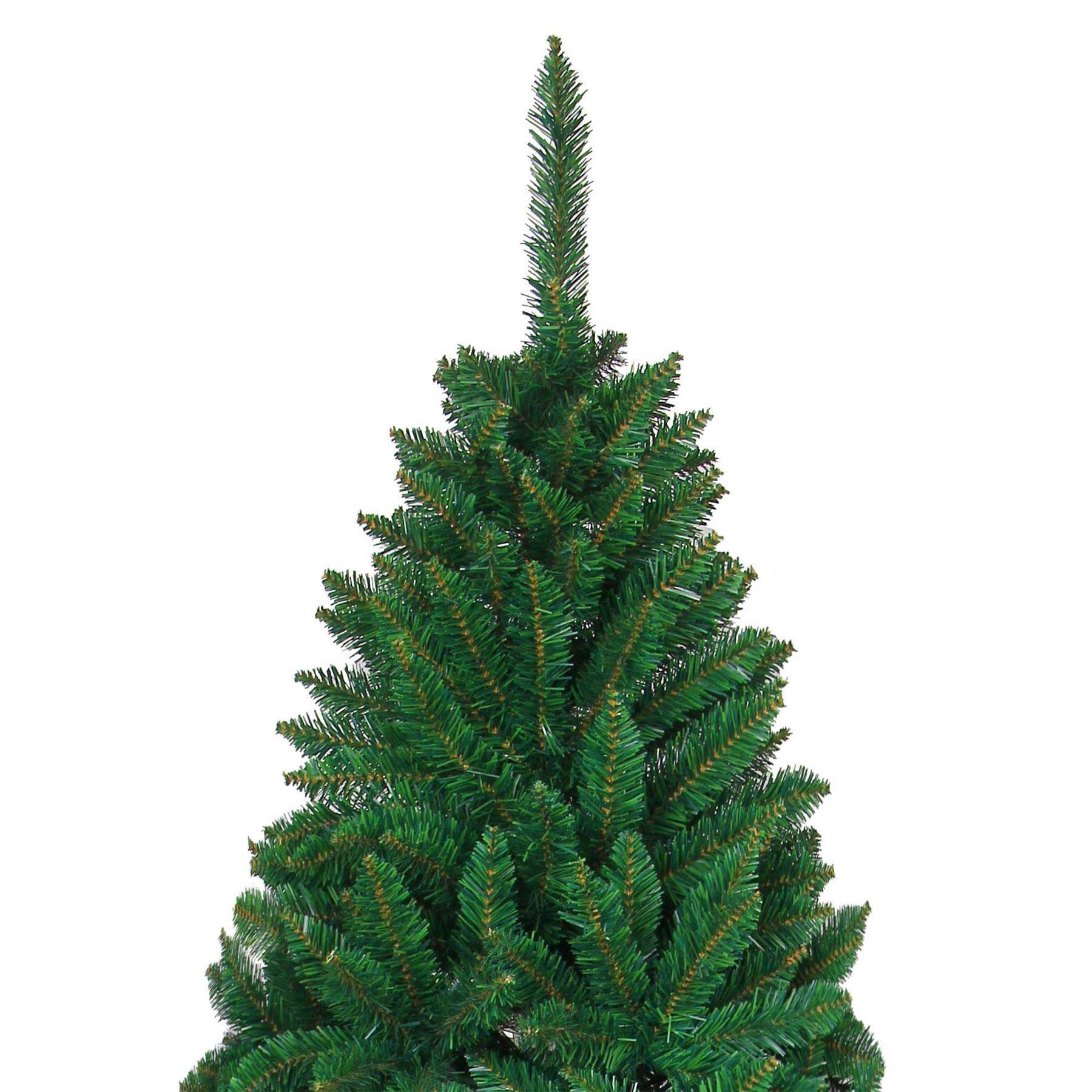 Deluxe cespuglioso verde Artificiale Albero Albero Albero Di Natale Natale Decorazioni Casa SUPPORTO METALLICO 7533a3