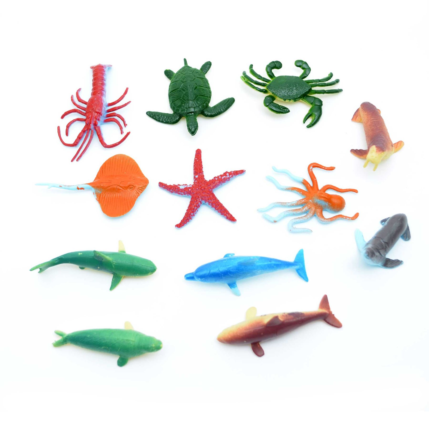 Children-Kids-Toy-Farm-Jungle-Sea-Dinosaurs-Animals-Figurines-Party-Bag-Fillers