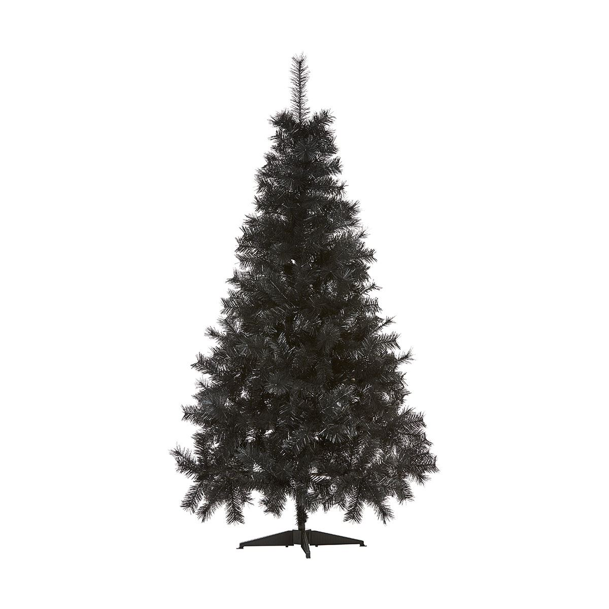 image is loading 5ft black christmas tree artificial decorations metal stand