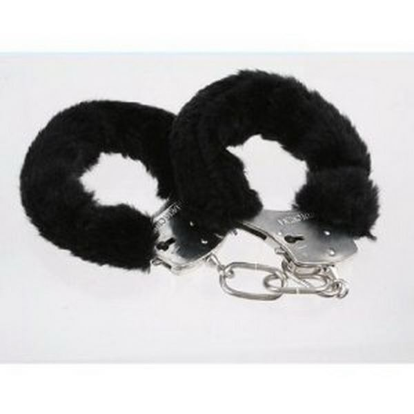 FURRY-FLUFFY-PINK-BLACK-RED-METAL-HANDCUFFS-FANCY-DRESS-HEN-NIGHT-STAG-PLAY-TOYS thumbnail 3