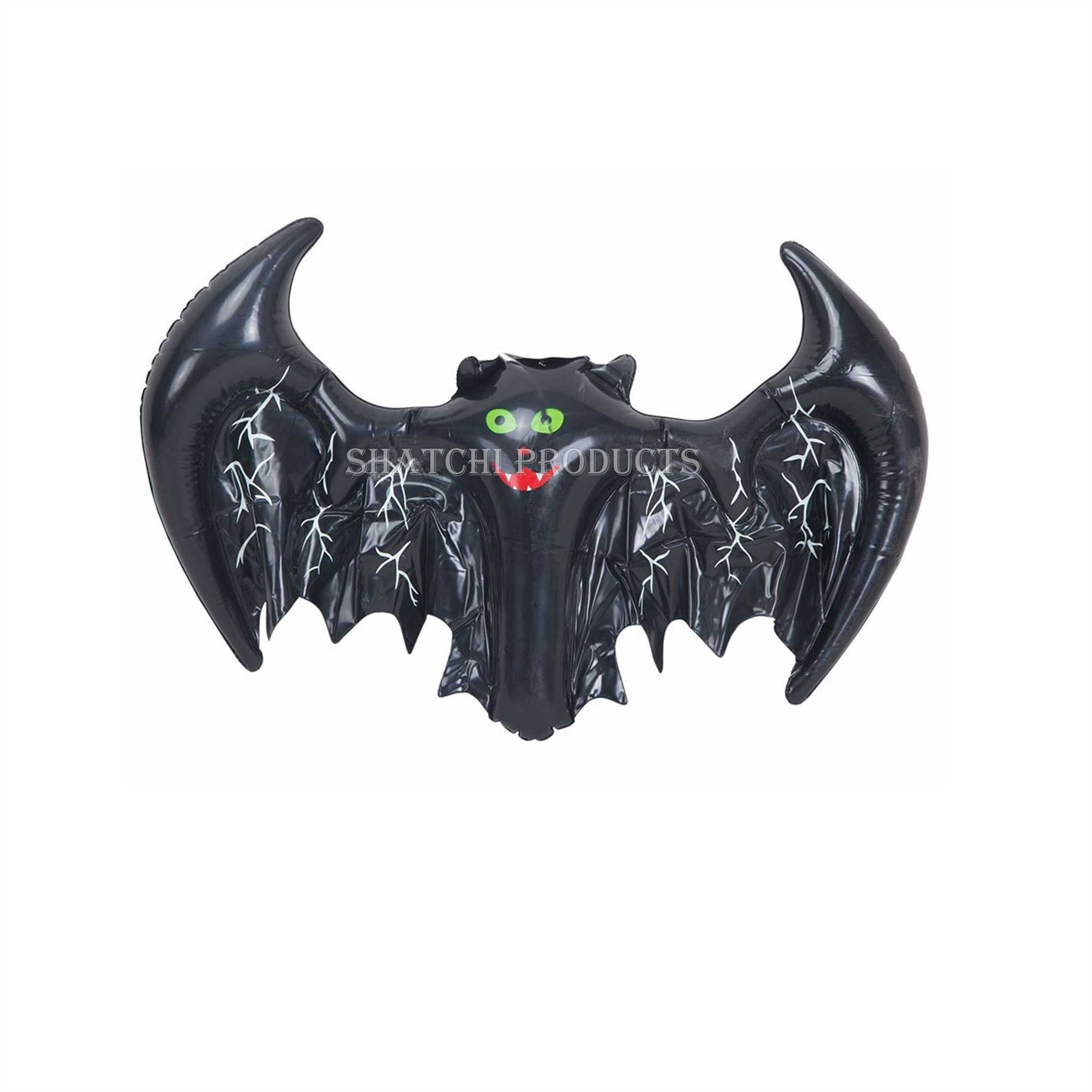 5pcs spooky scary halloween decoration inflatable bat party costume