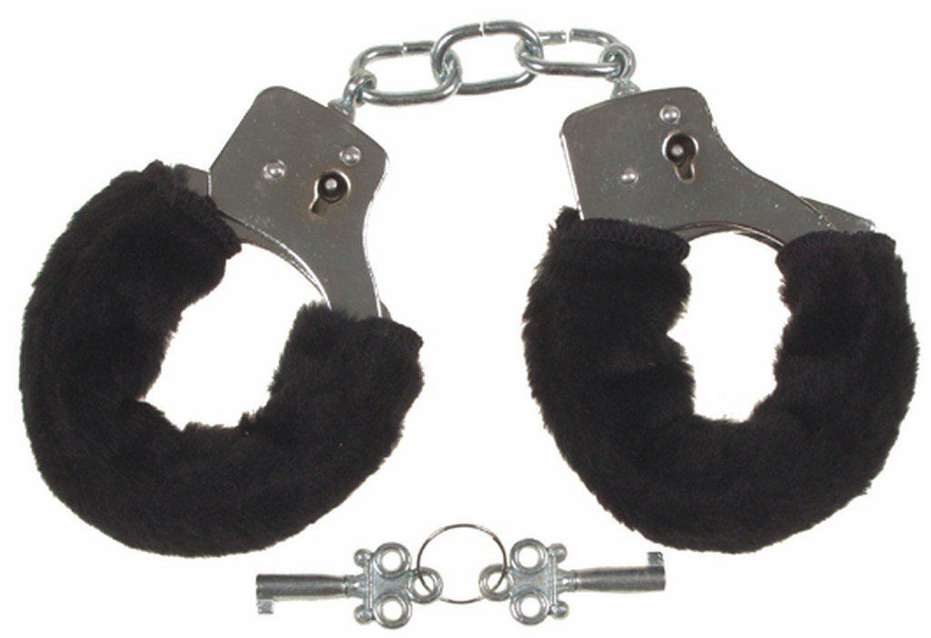 FURRY-FLUFFY-PINK-BLACK-RED-METAL-HANDCUFFS-FANCY-DRESS-HEN-NIGHT-STAG-PLAY-TOYS thumbnail 4