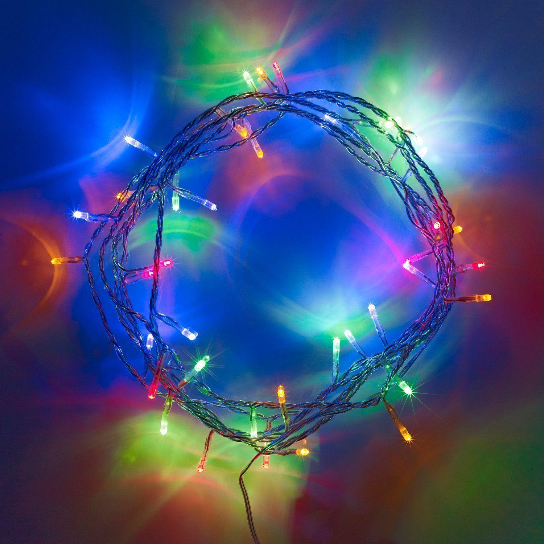 20-40-50-80-100-Batterie-DEL-Fairy-Lights-String-Fete-de-mariage-Decorations-Cuivre miniature 3