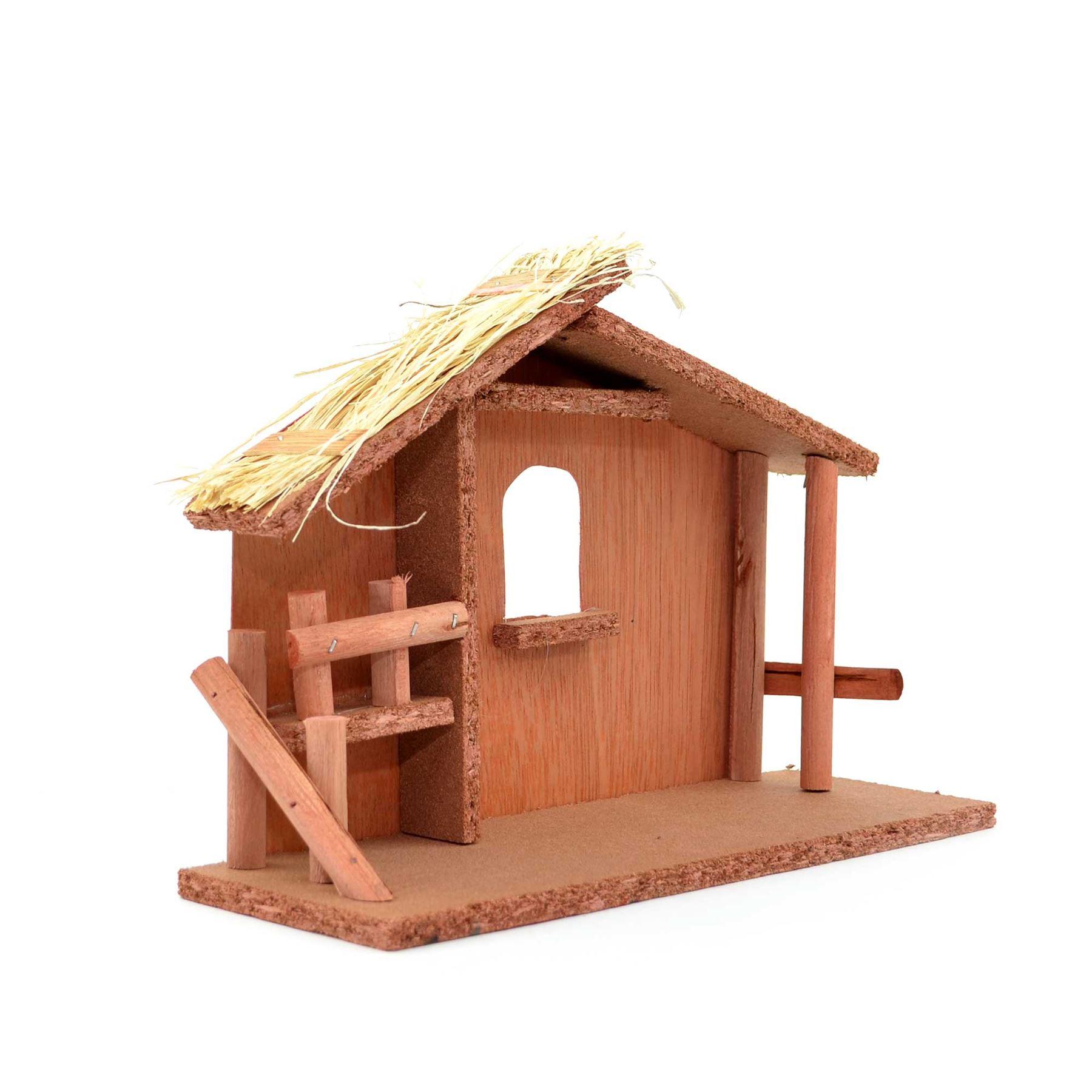 Christmas-Traditional-Nativity-Scene-Figurines-Stable-Crib-Set-Xmas-Decorations thumbnail 13
