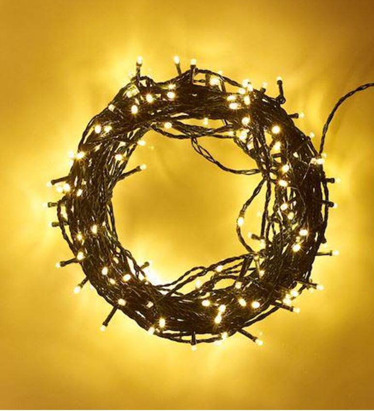 20-40-50-80-100-Batterie-DEL-Fairy-Lights-String-Fete-de-mariage-Decorations-Cuivre miniature 10