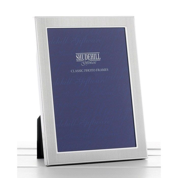 Satin Silver Photo Picture Frames Office New Home Decorations Decor ...
