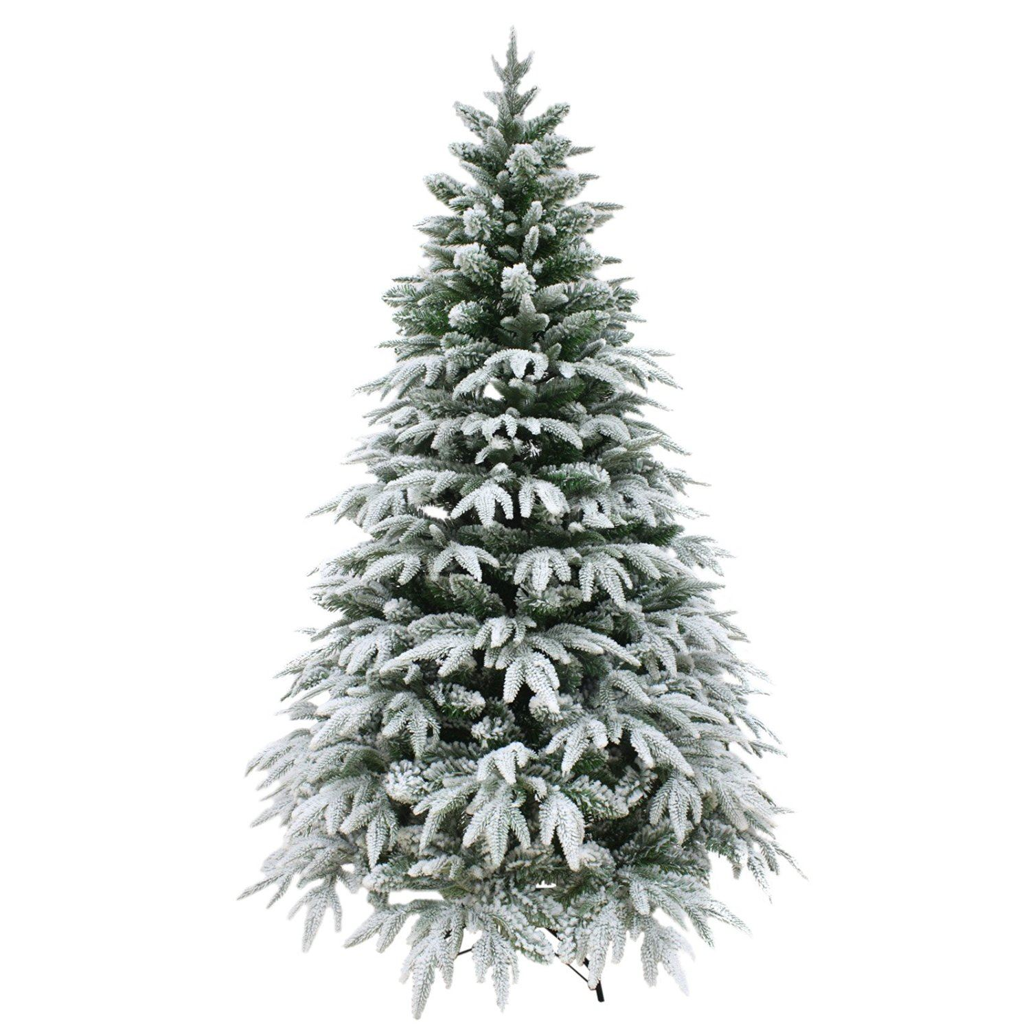 Real Look Designer Artificial Christmas Tree Snow Covered