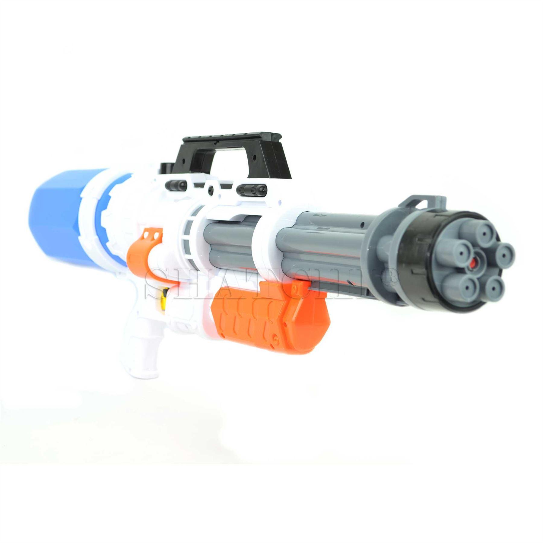miniature 16 - Large Water Gun Pump Action Super Soaker Sprayer Backpack Outdoor Beach Garden