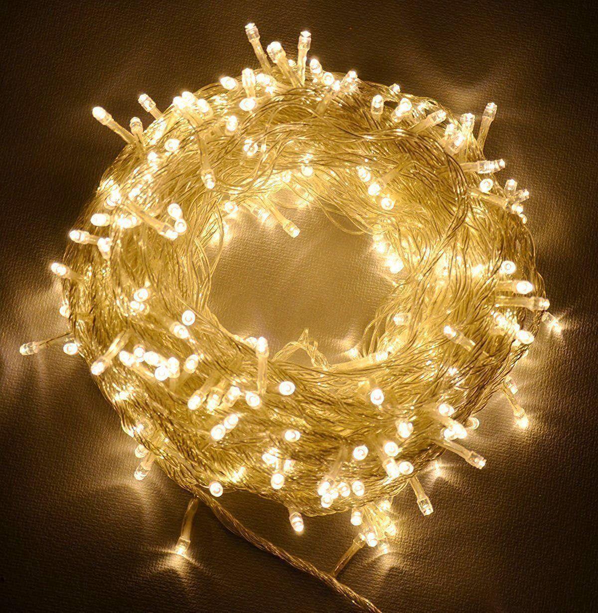 20-40-50-80-100-Batterie-DEL-Fairy-Lights-String-Fete-de-mariage-Decorations-Cuivre miniature 12