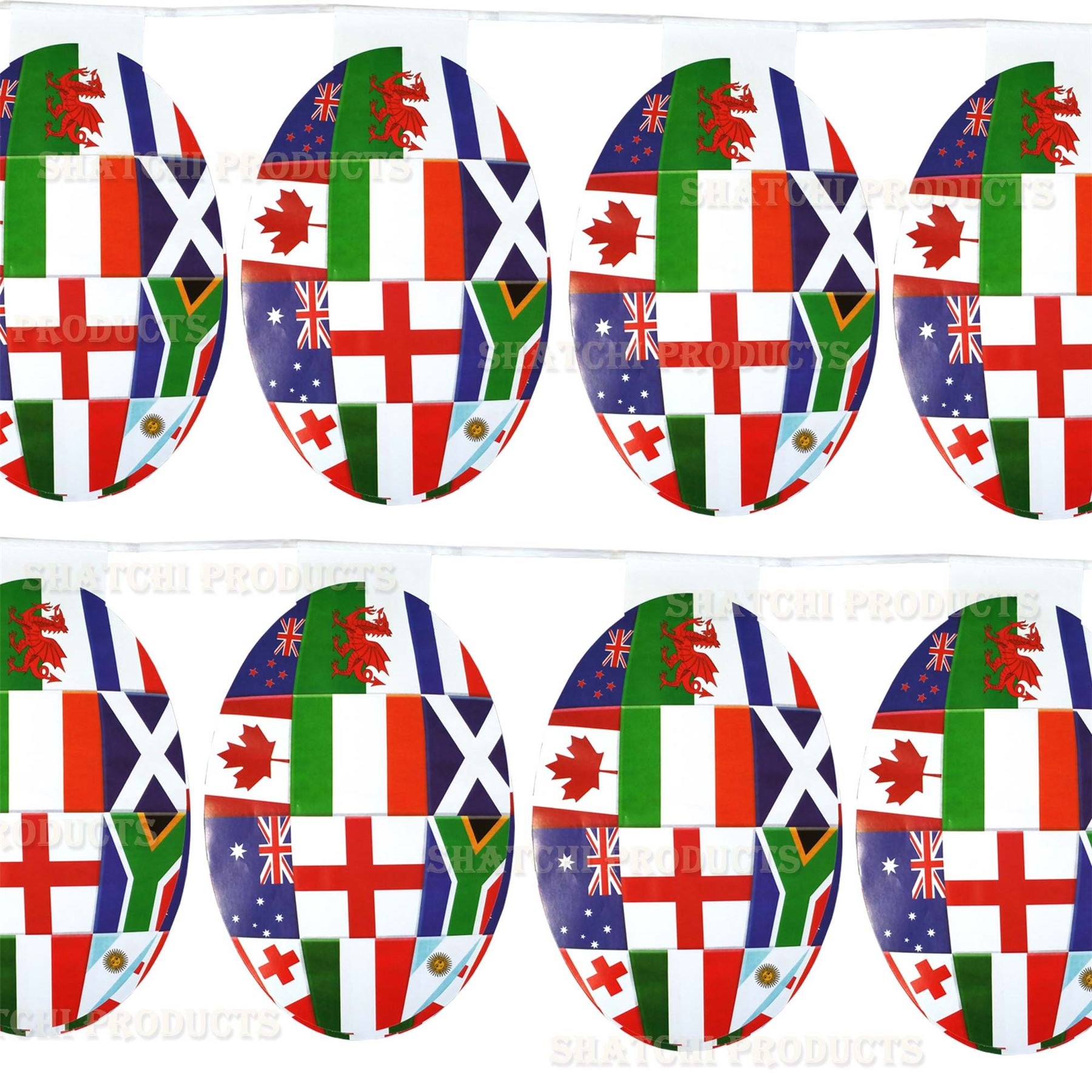 Decorations-For-2019-World-Cup-Rugby-Teams-Country-National-Flags-Bunting-Sports miniatuur 54