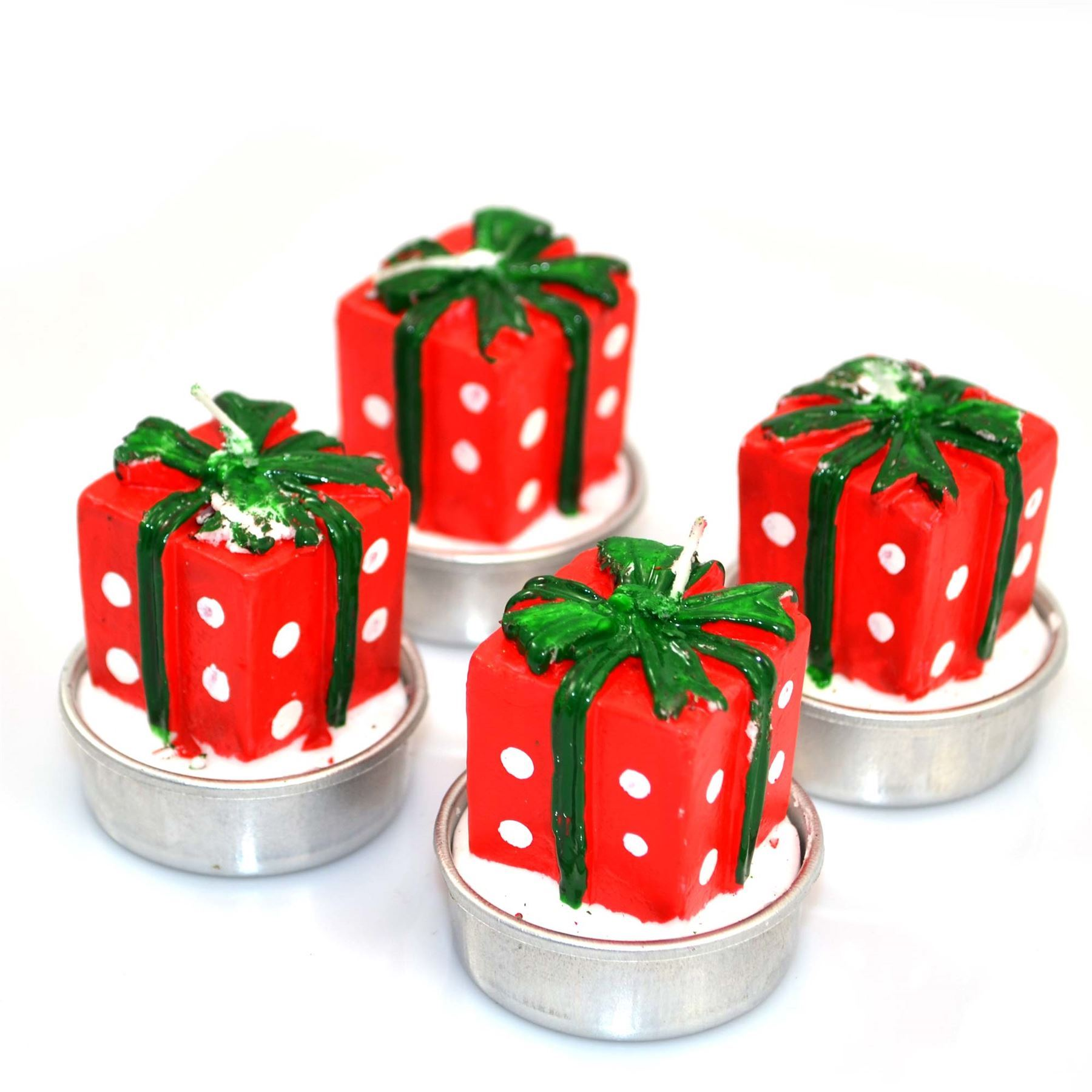 Shatchi novelty christmas decorations candles wedding party xmas picture 2 of 2 junglespirit Gallery