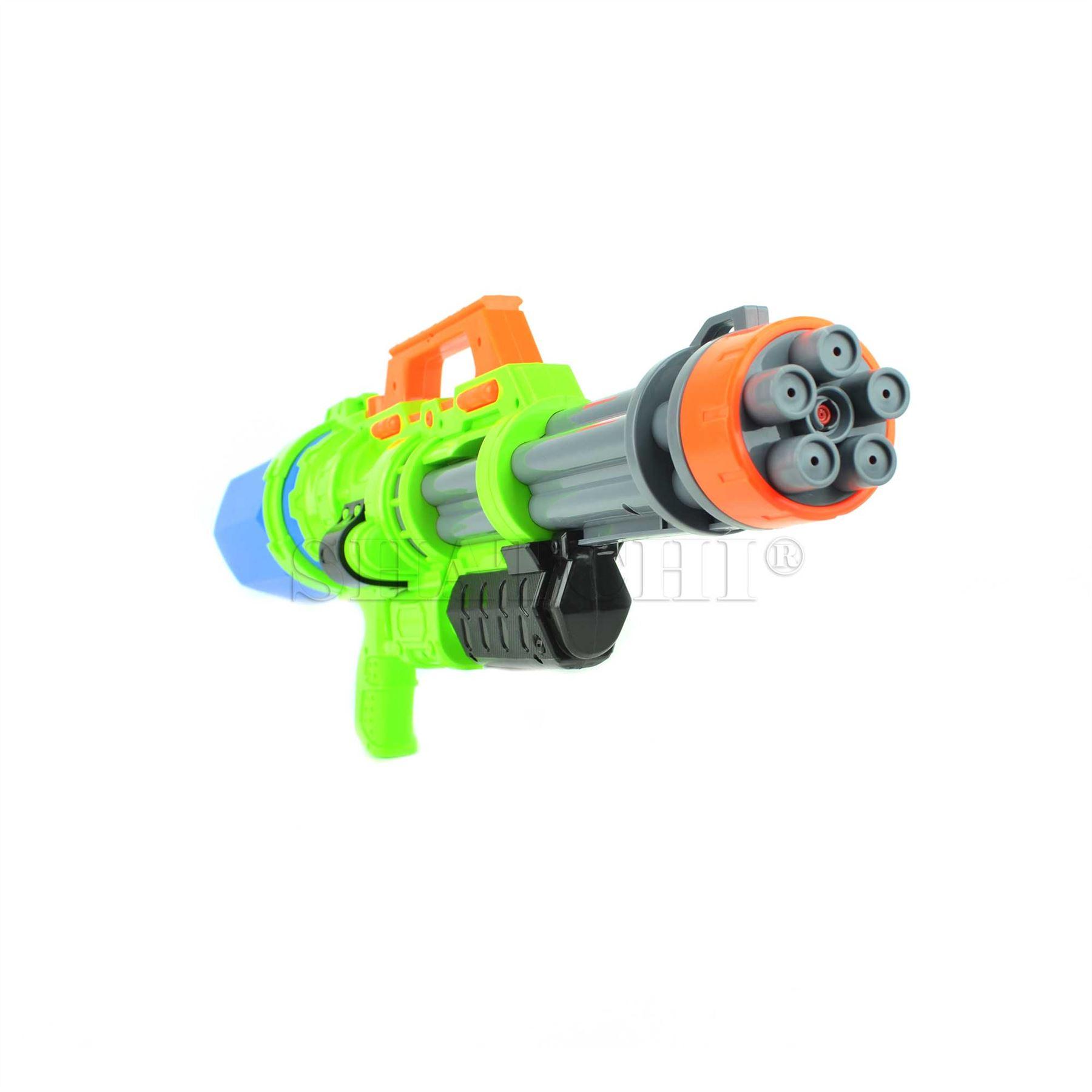 miniature 11 - Large Water Gun Pump Action Super Soaker Sprayer Backpack Outdoor Beach Garden