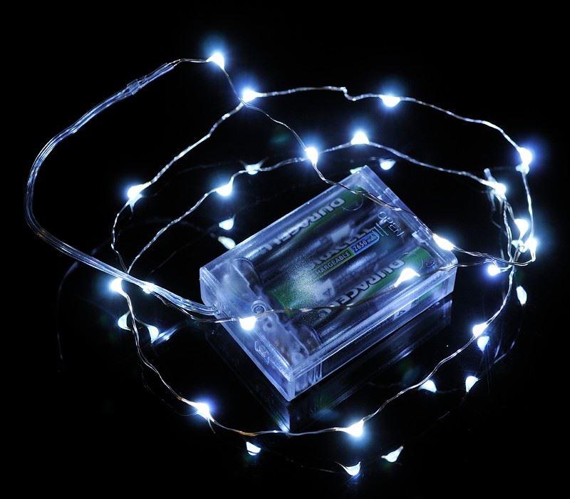 20-40-50-80-100-Batterie-DEL-Fairy-Lights-String-Fete-de-mariage-Decorations-Cuivre miniature 23
