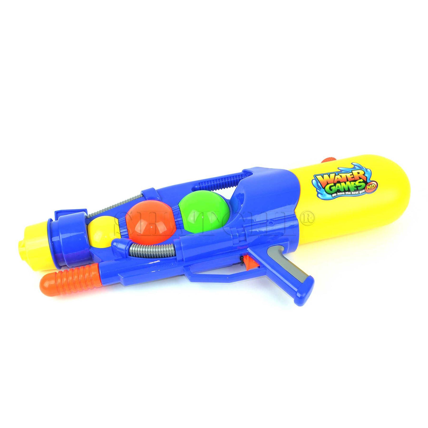 miniature 40 - Large Water Gun Pump Action Super Soaker Sprayer Backpack Outdoor Beach Garden