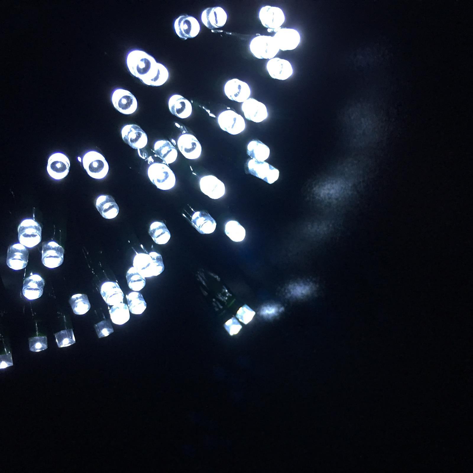 20-40-50-80-100-Batterie-DEL-Fairy-Lights-String-Fete-de-mariage-Decorations-Cuivre miniature 19