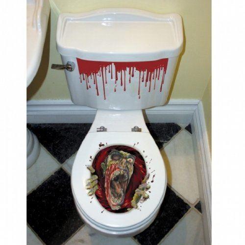 Decorazione-Natalizia-Natale-Casa-Bagno-Toilet-Seat-Cover-Set-Babbo-Natale-Elfo-Pupazzo-di-neve miniatura 7