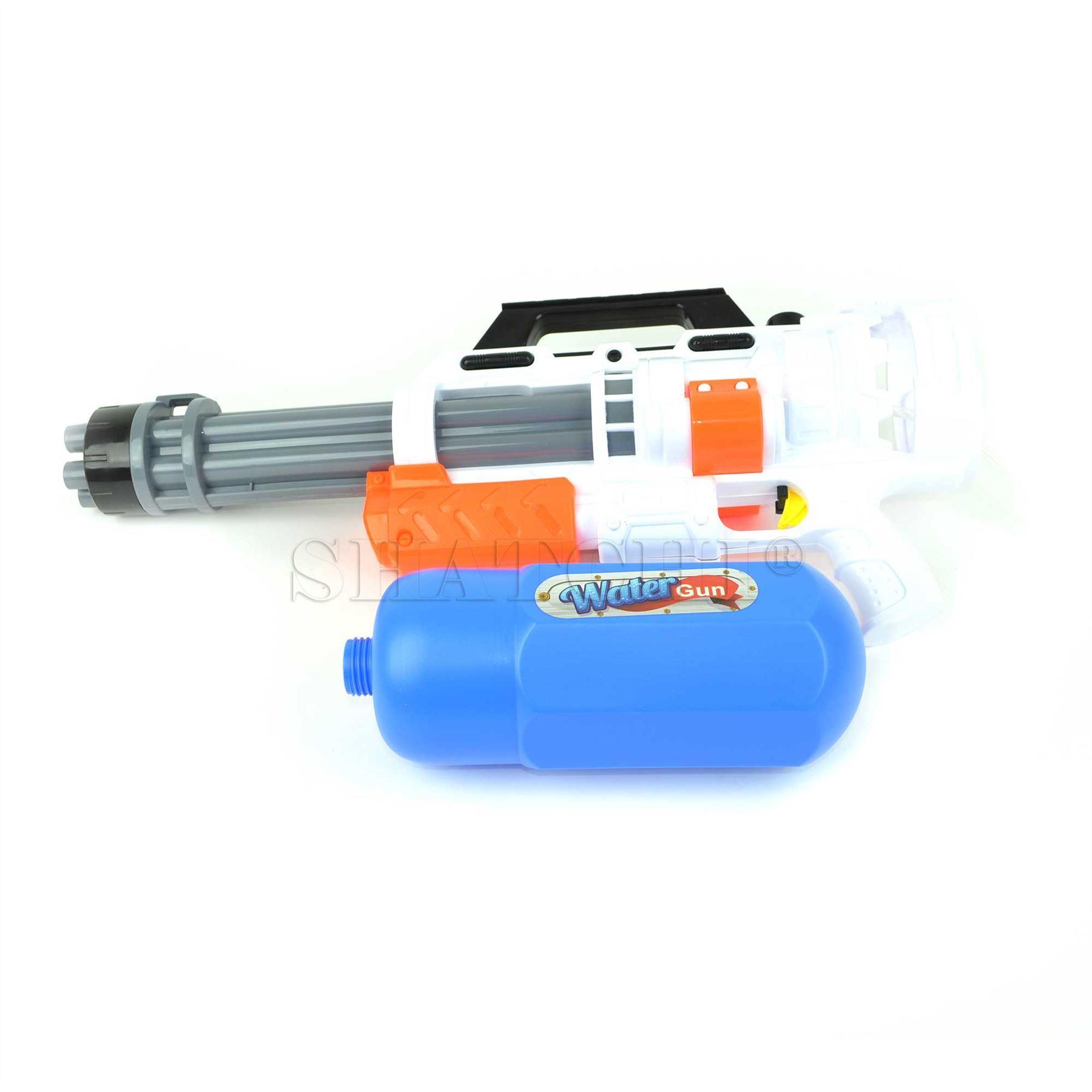 miniature 12 - Large Water Gun Pump Action Super Soaker Sprayer Backpack Outdoor Beach Garden