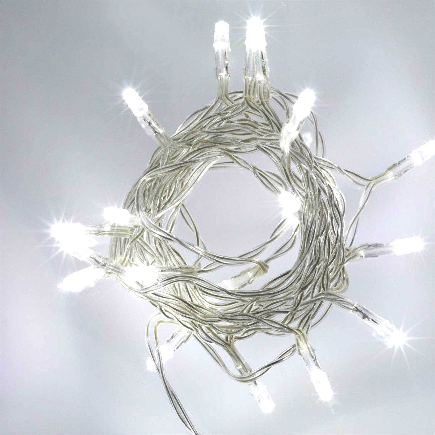 20-40-80-Clear-LED-Battery-Operated-Fairy-Lights-Christmas-Wedding-Party-Decor thumbnail 3