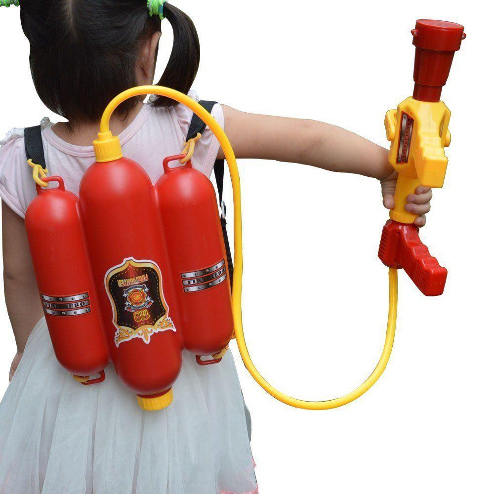 miniature 37 - Large Water Gun Pump Action Super Soaker Sprayer Backpack Outdoor Beach Garden