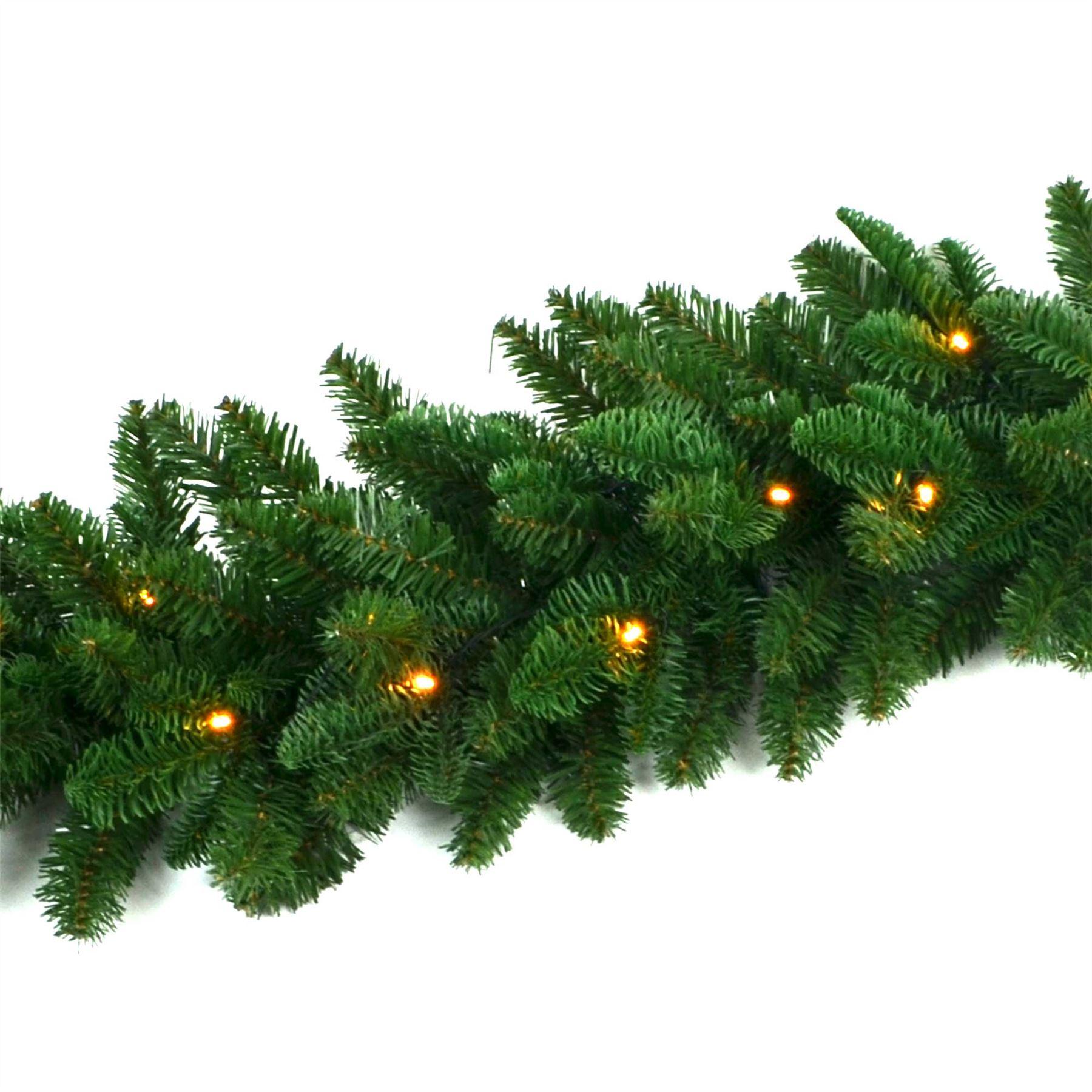 Pre-Illuminato-PRELIT-decorato-Corona-Ghirlanda-Decorazioni-Natalizie-Natale-Home-Decor-UK miniatura 16
